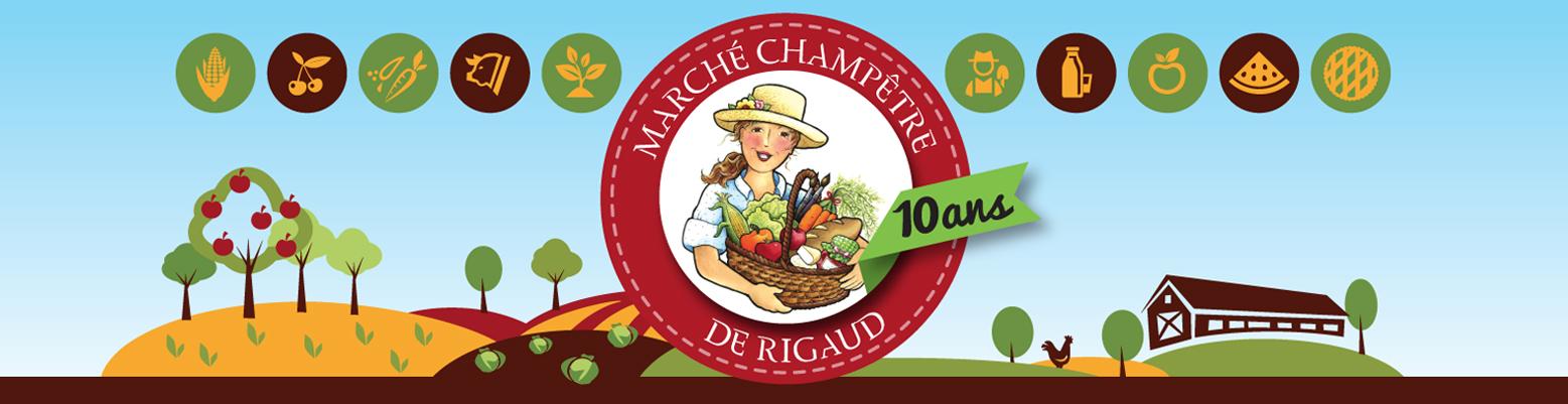Ouverture du Marché Champêtre de Rigaud le 3 juin!