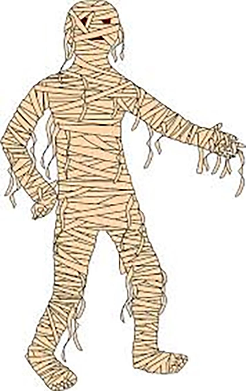 Fête de l'Halloween Prenez garde aux momies