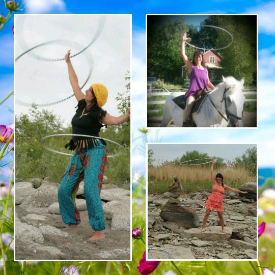 Cours de danse avec cerceaux – correction