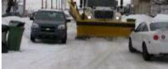 CE SOIR – 13 JANVIER – Opération d'enlèvement de la neige dans les rues de Rigaud