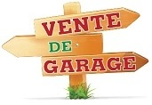 31 AOÛT – 2 SEPT: Ventes de garage autorisées