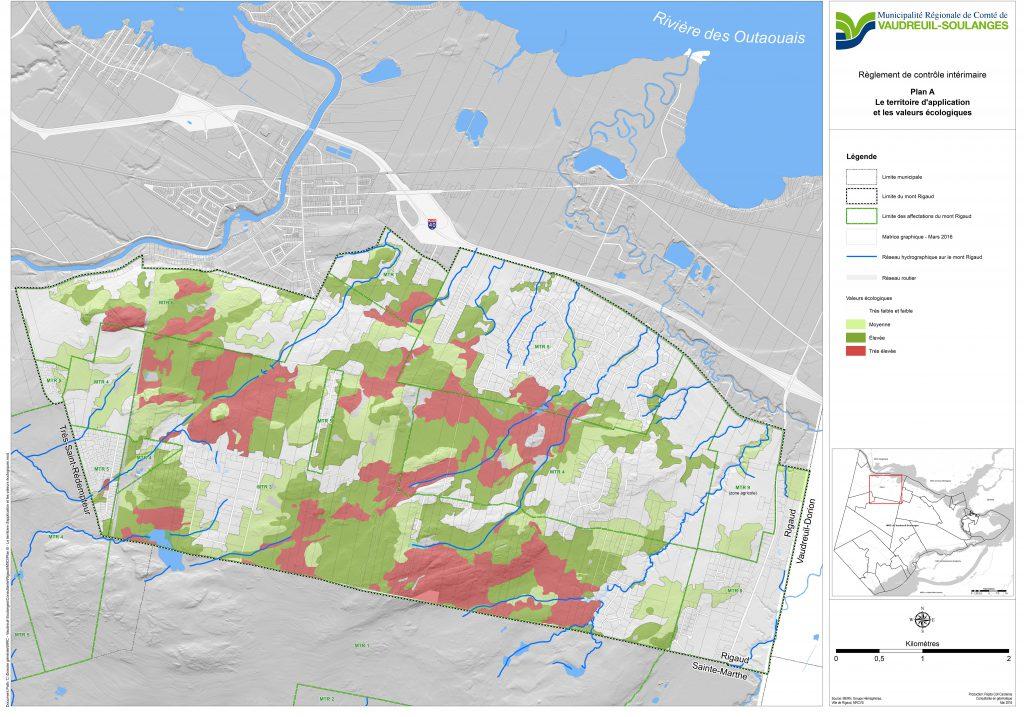 Mont Rigaud - Le territoire application et les valeurs ecologiques 2016-06-22