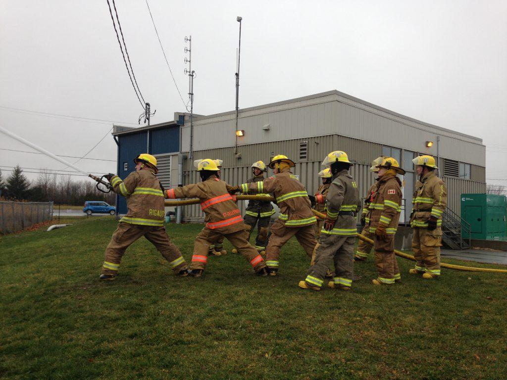 Formation pratique pompiers 1