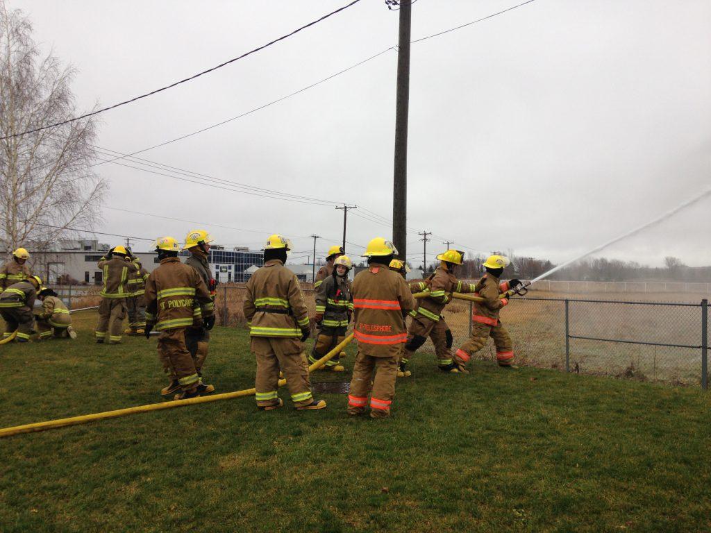 Formation pratique pompier 1