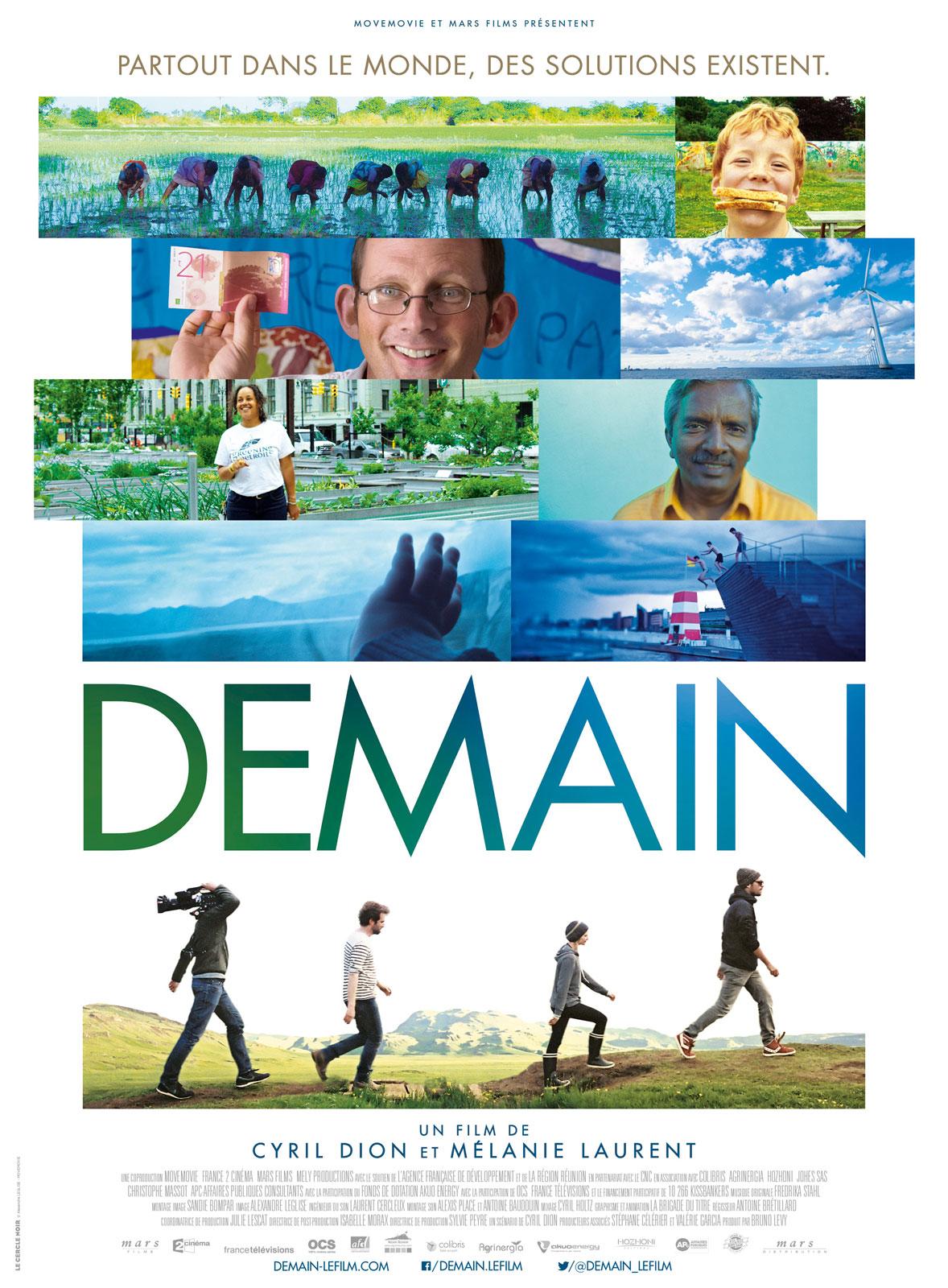 ANNULATION: Projection gratuite du film DEMAIN