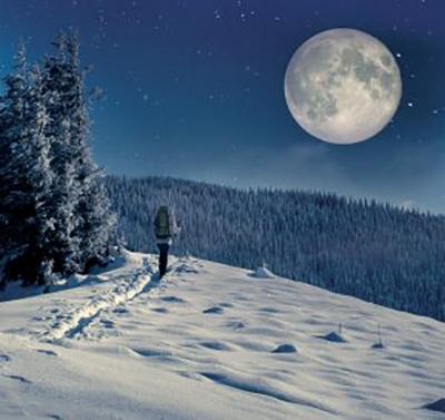 Randonnée nocturne en raquettes avec animation