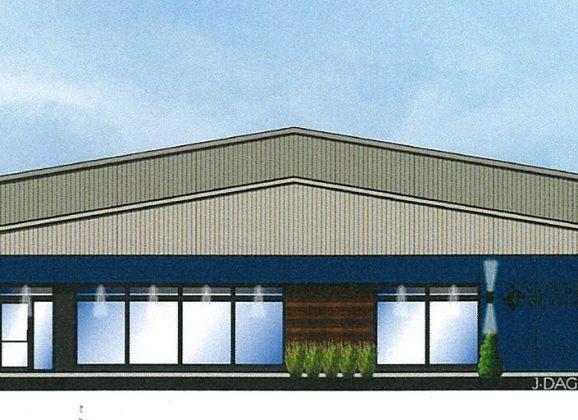 Informations concernant la construction du nouveau garage municipal