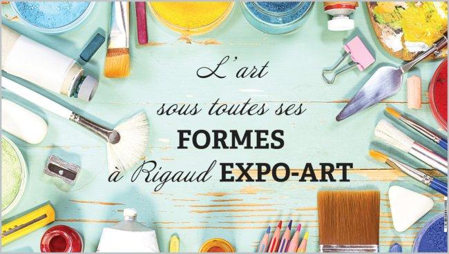Le 23 juin venez au Rigaud Expo-Art!