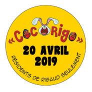 COCORIGO: Participez au rallye pédestre le 20 avril!