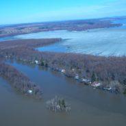 Début des inspections des propriétés situées dans la plaine inondable par les inspecteurs du Bureau du rétablissement inondations (BRI)