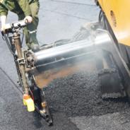 Plusieurs travaux d'asphaltage dans la ville
