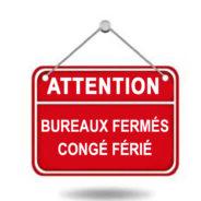 1ER JUILLET – Bureaux et Services FERMÉS – Fête du Canada