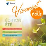 Le bulletin municipal Vivement chez nous de l'été est désormais disponible en ligne !