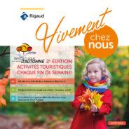 Le bulletin municipal Vivement chez nous de l'automne est désormais disponible en ligne!