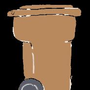 Contenu du bac brun gelé et difficultés pour l'entrepreneur de le vider