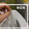 NON aux lingettes ou aux gants de nitrile dans les toilettes!