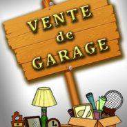 4-5 et 6 SEPTEMBRE – Méga vente de garage organisée par les Filles d'Isabelle
