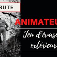 OFFRE D'EMPLOI  |  Animateur de jeu d'évasion extérieur  |  Temporaire à temps partiel
