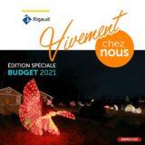 Distribution prochaine du bulletin municipal du budget 2021 – édition papier