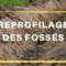 Travaux de reprofilage de fossé sur le chemin de la Pointe-au-Sable