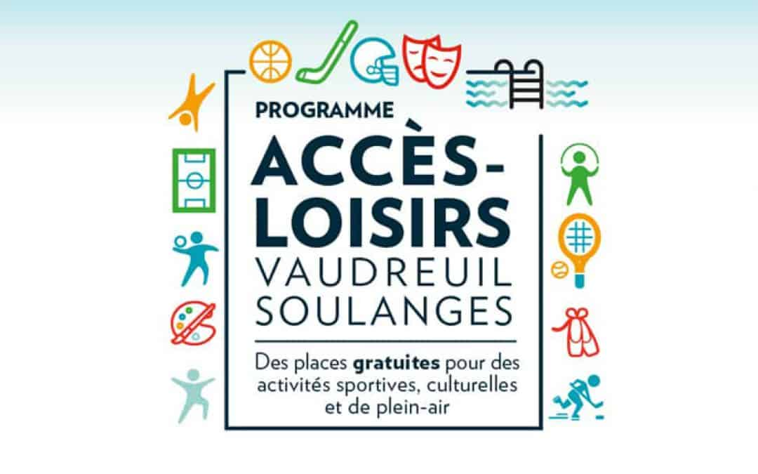 Accès-Loisirs est de retour pour la saison estivale | Inscriptions du 15 au 17 mai 2021