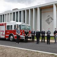 Signature de la convention collective entre la Ville et les pompiers