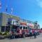 Arrivée du nouveau camion échelle du Service de sécurité incendie