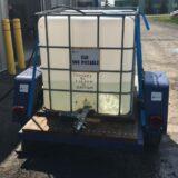 Le réservoir d'eau non-potable qui était sur la rue Rigaud a été retiré
