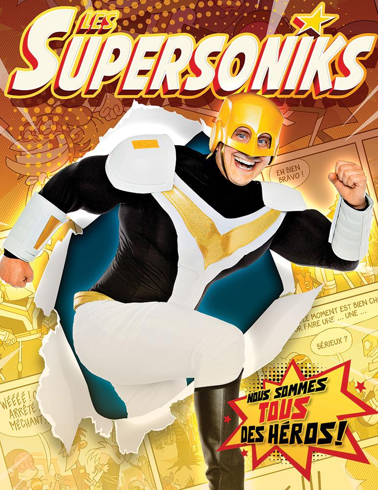 Découvrez Les Supersoniks ! EN SPECTACLE LE 4 AOÛT!