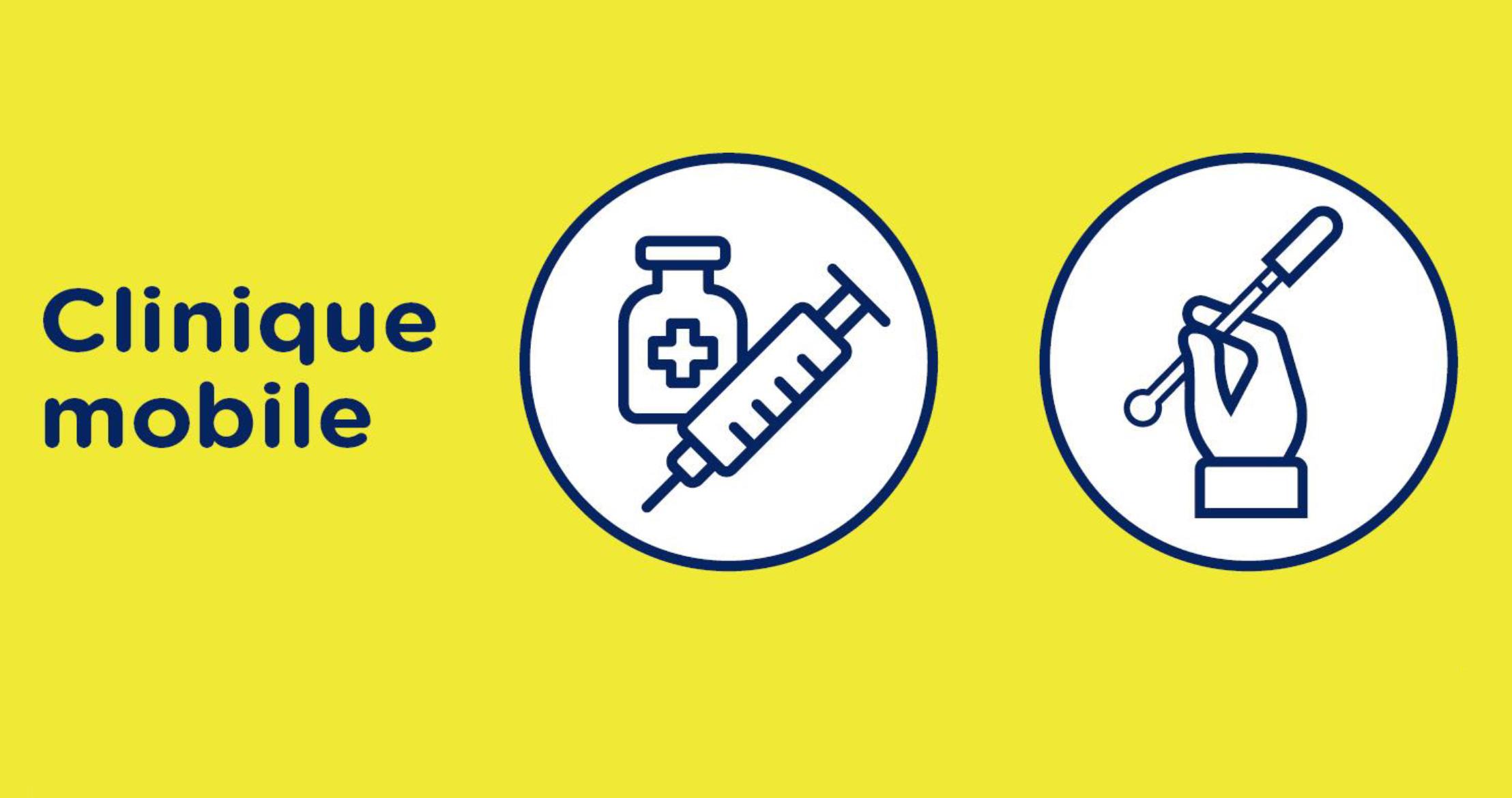 Clinique mobile de vaccination à Rigaud les 6-7 août