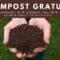 À PARTIR DU 8 OCTOBRE – Compost gratuit
